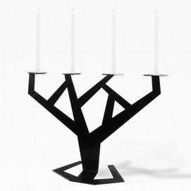 Подсвечник TREE черный ESENSE