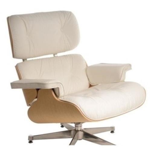 Кресло с оттоманкой Vip белое D2-82917 Home Design 2017