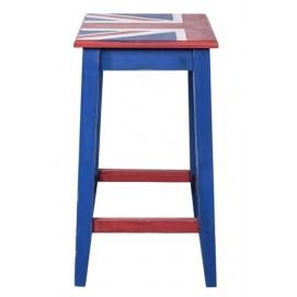 Табурет полубарный Union Jack синий SS003716 Woodville