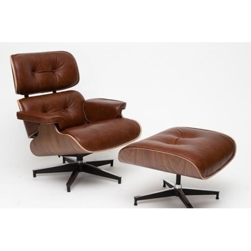 Кресло с оттоманкой Vip коричневое D2-82926 Home Design 2017