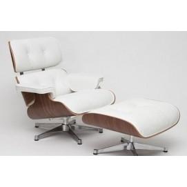 Кресло с оттоманкой Vip белое D2-82923 Home Design 2017