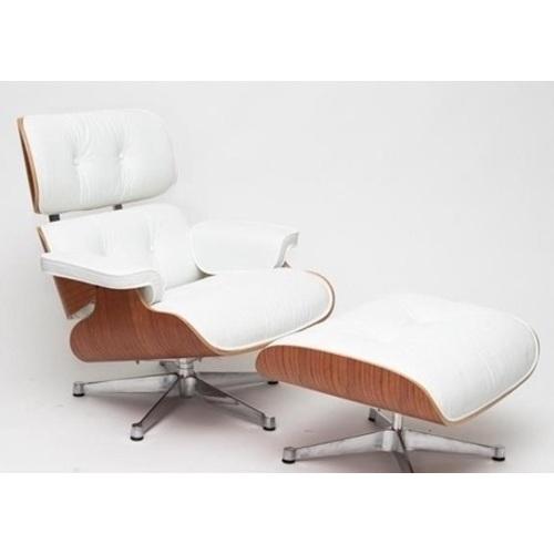 Кресло с оттоманкой Vip белое D2-82920 Home Design 2017