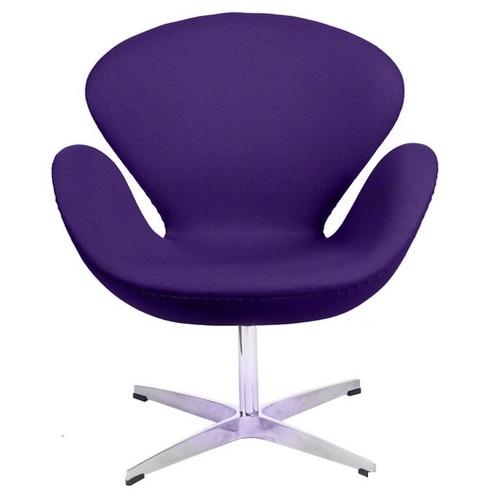 Кресло Cup фиолетовое кашемир 6 D2-19399 Home Design 2017