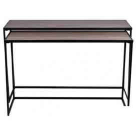Набор столиков  Simple Desk, 133 i 123 cm черный (EX_1795) Home Design 2017
