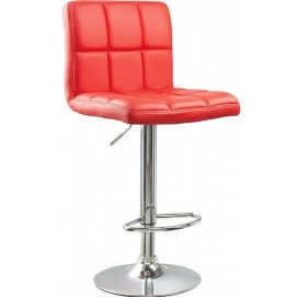 Стул барный HY 356-3 Primel красный