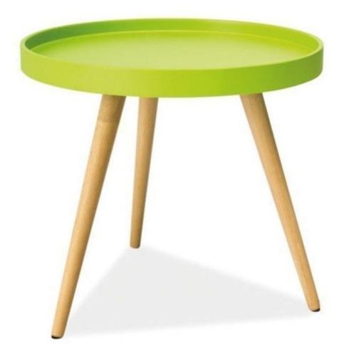 Стол кофейный Tray T2 зеленый малый Kordo