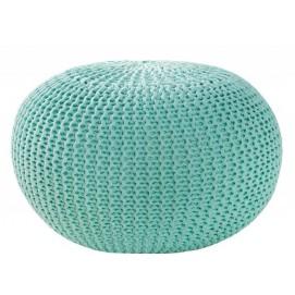 Пуф бирюза Ball 50cm (Z36626) Invicta