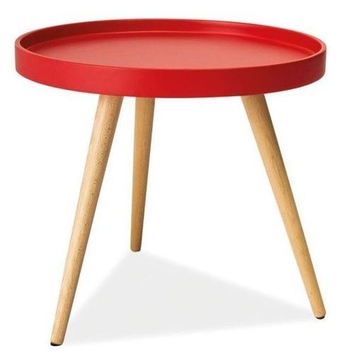Стол кофейный Tray T2 красный малый Kordo