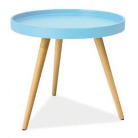 Стол кофейный Tray T3 голубой средний Kordo