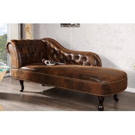 Кушетка Chesterfield коричневая (Z21628) Home Design 2017