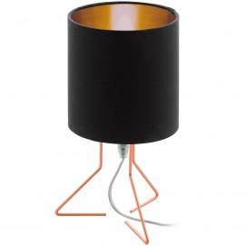 Лампа настольная 95758 NAMBIA 1 черная+золото Eglo