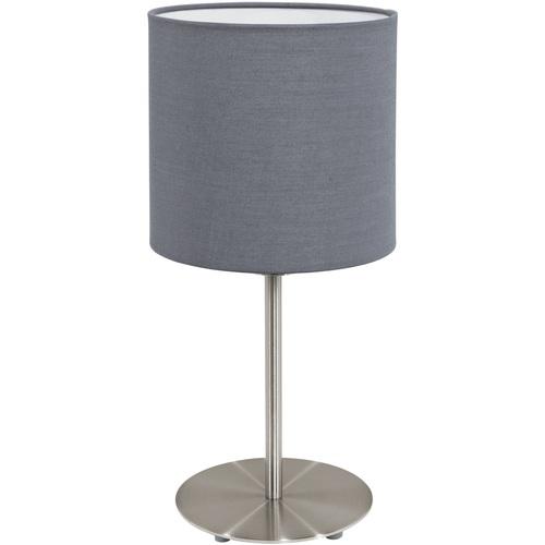 Лампа настольная 95728 PASTERI серая Eglo