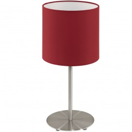 Лампа настольная 95731 PASTERI красная Eglo