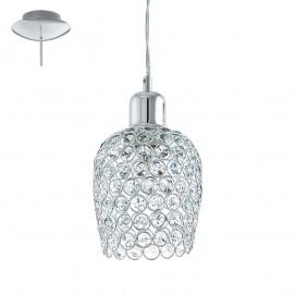 Лампа подвесная Eglo 94896 BONARES 1 хром