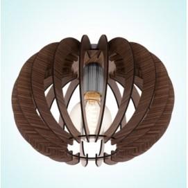 Люстра 95021 STELLATO  коричневая Eglo
