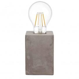 Лампа настольная 49812 PRESTWICK серая Eglo