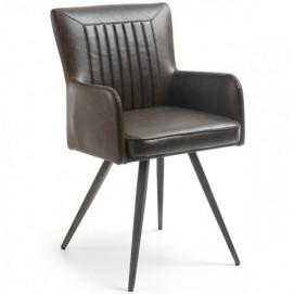Кресло TYA коричневое CC0334UE09 Laforma 2017