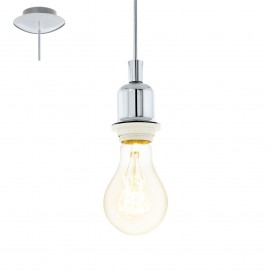 Лампа шнур 49857 WELLS хром Eglo