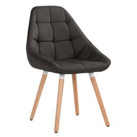Кресло Vogue черный кожзам Primel