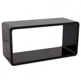 Полка Recto черная 90 cm (CT00230BL) Kokoon Design