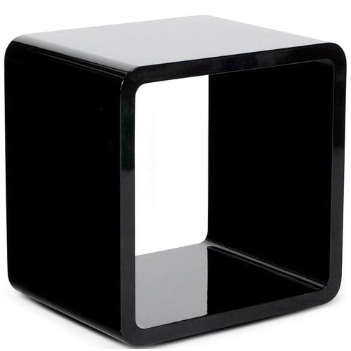 Полка навесная Verso черная 45cm (CT00130BL) Kokoon Design 2017