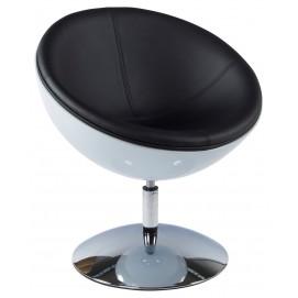 Кресло SPHERE белое+черное AC00420WH Kokoon Design 2017