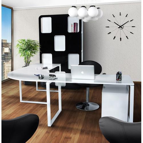 Стол офисный KUVO белый Kokoon Design 2017