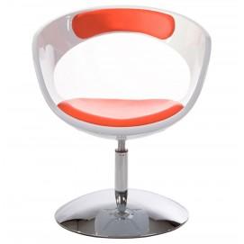 Кресло KIRK белое+красный Kokoon Design 2017