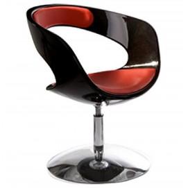 Кресло KIRK черное+красный Kokoon Design 2017