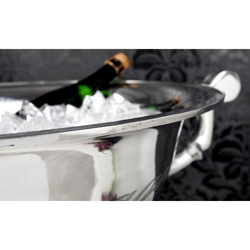 Ведро для шампанского Champagne серебро 65cm (Z21707) Invicta