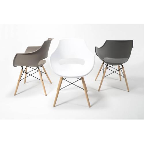 Кресло 3643 / 48 серое Zijlstra 2017
