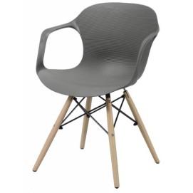 Кресло 3644 / 48 серое Zijlstra 2017
