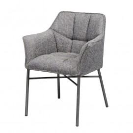 Кресло темно-серое 4101 / 44F Zijlstra 2017