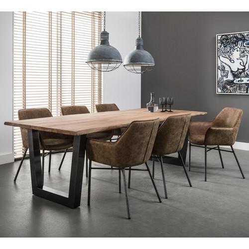 Кресло 4103 / 53W коричневое Zijlstra 2017