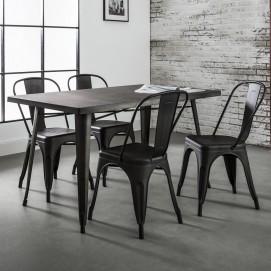 Стол обеденный 3619 черный Zijlstra 2017