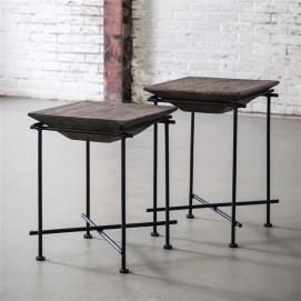 Набор столиков 2 шт 2019 / 15L серый Zijlstra 2017