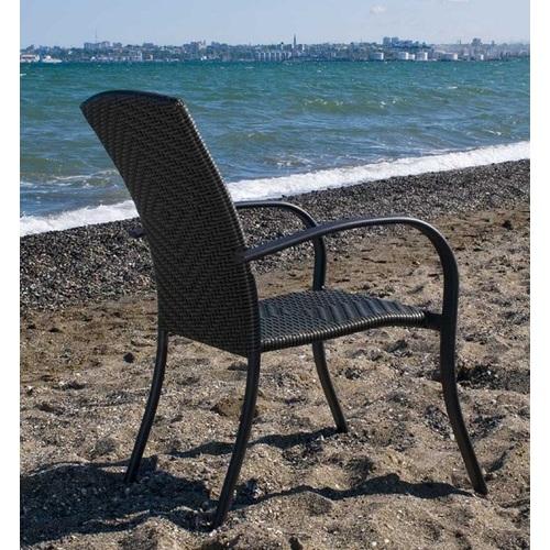 Кресло ALC - 4050 темно-коричневое Onder