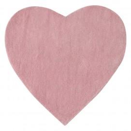 Ковер детский 70 х 70 cm CŒUR розовый 135350 Maisons 2017