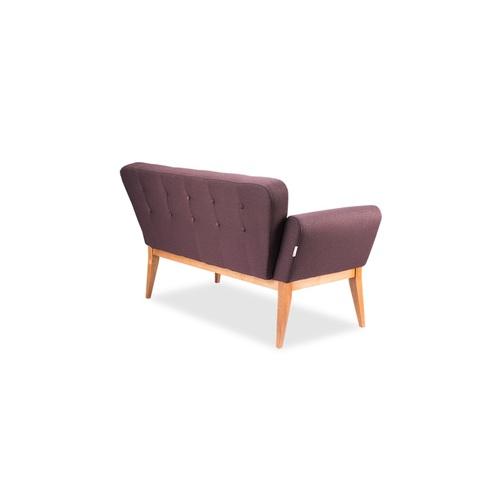 Диван двойка Колибри-wood-2 фиолетовый D'LineStyle 2018