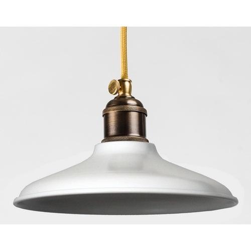 Лампа подвесная 3206-1 белая PikArt