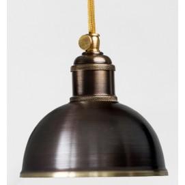 Лампа подвесная 3292-1 темная патина PikArt