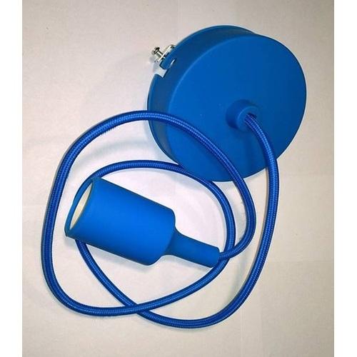Лампа шнур AMP Silicone 002-1 голубая Thexata