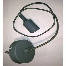 Лампа шнур AMP Silicone 003-1 серая Thexata