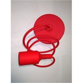 Лампа шнур AMP Silicone 006-1 красная Thexata