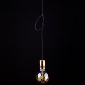 Лампа шнур Nowodvorski 9747 CABLE BLACK/COPPER черная+медь