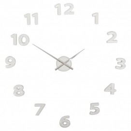 Часы-наклейки белые 60-160cm 187207 Dyyk