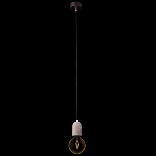 Лампа шнур Nowodvorski 9691 TULUM серая бетон