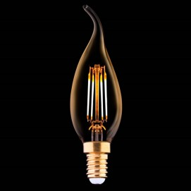 LED лампочка Эдисона 4W 2200K 360Lm Amber янтарное стекло
