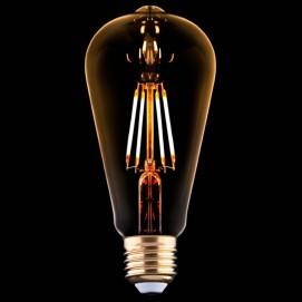 LED лампочка 4W 2200K 360 Lm Amber янтарное стекло