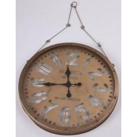 Часы на цепи желтые 61x5,5cm 180013 Dyyk